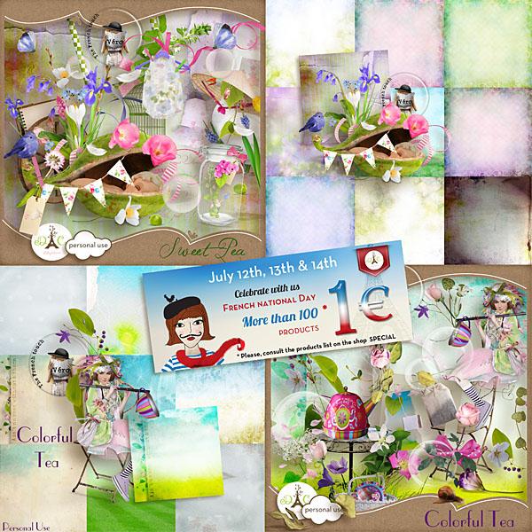 Véro - MAJ 02/03/17 - Spring has sprung ...  - $1 per pack  - Page 2 Promo-14-juillet-3646fc0